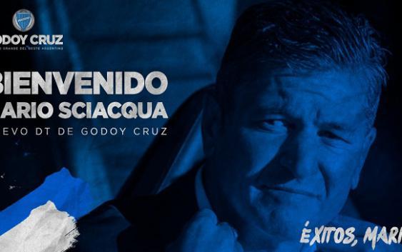 Mario Sciacqua es el nuevo entrenador de Godoy Cruz